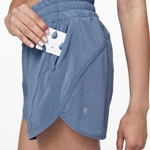 Lululemon lavender tracker shorts